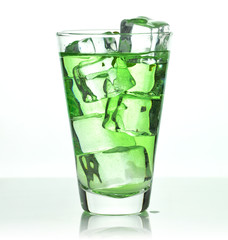 glass of cold drink