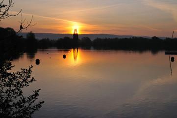 Early morning at the lakes #2
