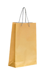 Shopping paper bag made from recycle paper