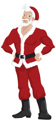 Hot Handsome Santa Claus