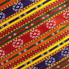 ethnic color textile background
