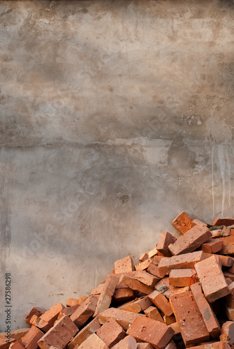 background - wall and bricks