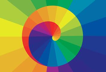 Circle colorful. Vector Illustration