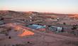 Leinwanddruck Bild - panorama of coober pedy, south australia