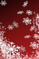 Schneeflocken in 3D