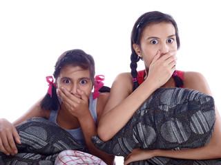 shocked kids