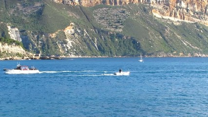 Promenade en mer à Cassis