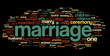 Marriage Word Cloud