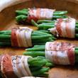 Haricots verts au bacon