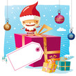 Christmas - santa claus and his gifts