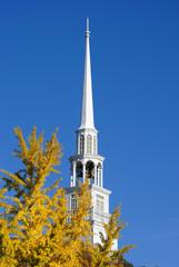 Baptist Church Steeple