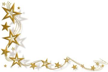 Weihnachtssterne Gold 01