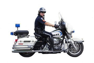 Police Motorcycle Cop