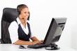 female african american telephone operator