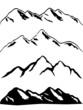 Snowy mountain peaks - 27605001