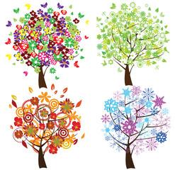 four season trees