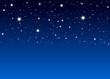 Nachthimmel mit vielen abstrakten Sternchen