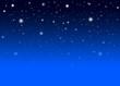 Abstrakter Nachthimmel mit blauem Hintergrund