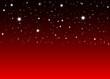 Abstrakter Nachthimmel mit rotem Hintergrund