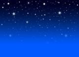 Fototapety Abstrakter Nachthimmel mit blauem Hintergrund