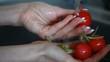 Preparation of vegetable salad. Vegetable dishes