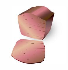 Leberkaese maiale affumicato