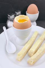 œufs à la coque