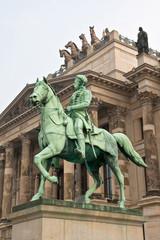 Reiterdenkmal in Braunschweig