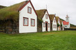 Iceland - turf houses museum in Laufas