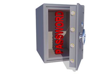 password in safe