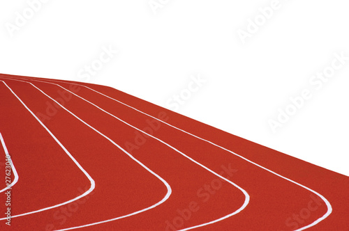 Stadium Running Tracks Isolated
