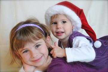 Geschwister Weihnachten
