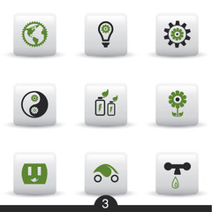 Ecology web icons from series..no.3