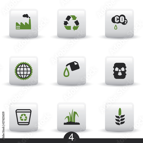 Ecology web icons from series..no.4