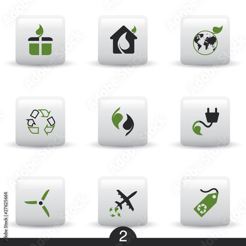 Ecology web icons from series..no.2