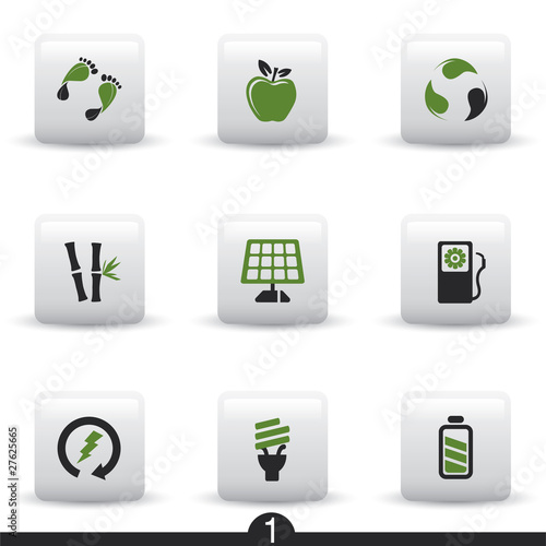 Ecology web icons from series..no.1