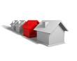 Häuser, 3D Haus, Immobilie