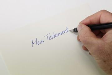 Mein Testament