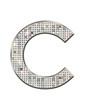 C - Alphabet strass et paillettes