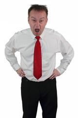 Geschäftsmann - Typ Choleriker