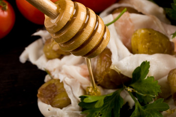 Castagne con Lardo e Miele - Marron Glacé