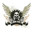 Grunge gang design