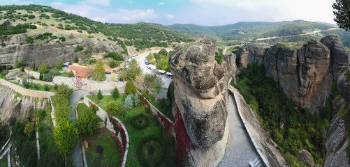 View from one of Meteora monastery