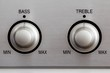 Bass and Treble Knobs