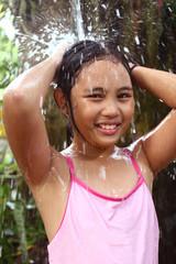 girl in the shower