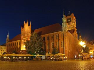 Old Town Hall in Torun, Poland