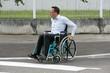 Handicap passage piéton