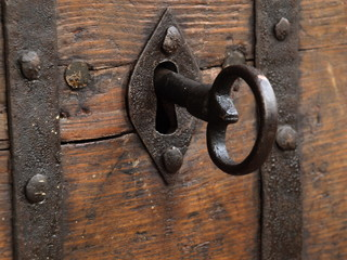 stary klucz