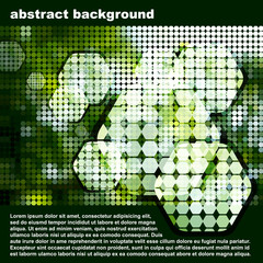 abstract mosaic.