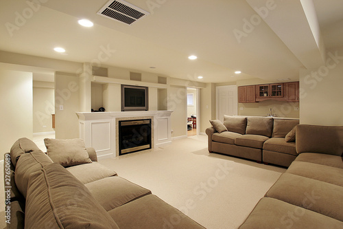 Basement in luxury home - 27650689